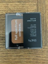 Covergirl Full Spectrum Matte Powder 400 Deep Cool - $18.69