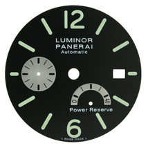 Panerai Luminor Power Reserve Black 32mm Watch Dial - $499.00
