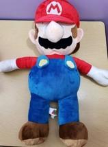 Large 24'' Mario Stuffed Plush Doll  Nintendo Super Mario Bros 2016  - $29.28