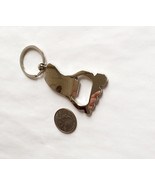 Bare Foot Key Chain with Bottle Opener Shiny Metal - $4.95