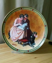 Norman Rockwell A Couple's Commitment Collector... - $14.99