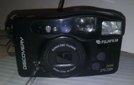 Fujifilm Discovery 270 35mm Point & Shoot Film Camera - $5.81