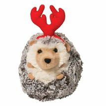 Spicy Holiday Hedgehog with Antlers 5 Inches - $17.33