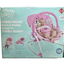 Bright Starts Disney Baby Minnie Mouse Stars & Smiles Infant To Toddler ... - $47.42