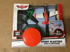 Disney Planes Stunt Blasters Dusty & Ripslinger SHELF PULL - $39.58