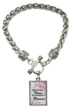 Only the Best Moms Get Promoted to Memaw Silver Toggle Bracelet Jewelry ... - $13.80