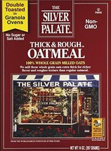 The Silver Palate Oatmeal, Thick & Rough, 14-Ounce Box Pack of 4