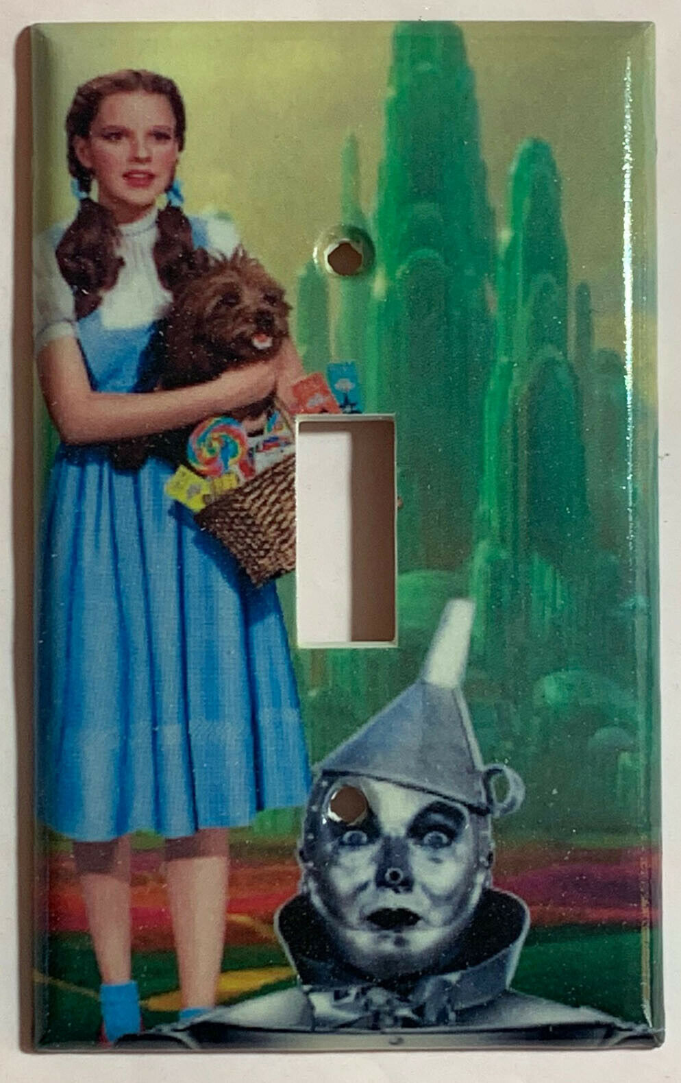 Wizard of Oz Tin Man Dorothy Gale Switch Outlet wall Cover Plate Home Decor