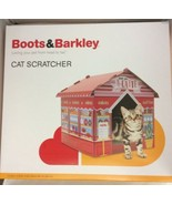 Boots & Barkley Valentine's Day Love You A-Latte Cafe Cat Scratcher House - $29.99