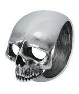 Schadel Schief Ring Big Pewter Sideways Skull Men's Women's Alchemy Goth... - $22.95