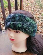 Turban Headband Turban Gray Black Green Turban Headwrap Headband - $22.28