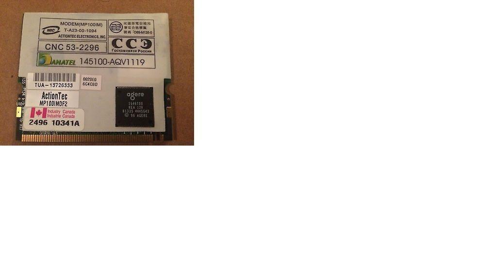 ACTIONTEC MINIPCI 802.11B MODEM COMBO CARD DRIVER FOR WINDOWS