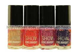 *MAYBELLINE Color Show REBEL BOUQUET Nail Polish LIMITED EDITION *YOU CH... - $3.99