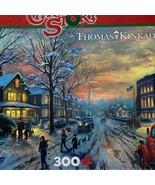 Ceaco Thomas Kinkade A Christmas Story 300 Pieces Puzzle Complete - $10.88