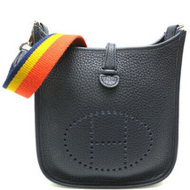 Auth Hermes Evelyn TPM T 2015 shoulder bag door Clemence leather DH51327 - $2,961.33