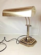 OttLite Nickel Finish Visionsaver Barrister Piano Desk Lamp H13RC1 Teste... - $129.99