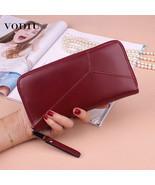 Women Wallet Female Purse Geometric Clutch  Wallets Phone Pocket Purse C... - $17.50