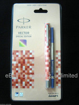 Parker Vector Special Edition CT Roller Ball Pen Red Body -New Sealed Or... - $15.99