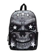 Mojo Genosse Herr Peterson Skull Gothik Urban Punk Schulbuch Tasche Ruck... - $42.09