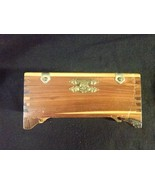 Vintage Cedar Jewelry Box - $19.97