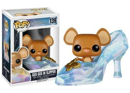 "New Pop Disney: Cinderella - Gus Gus In Slipper 3.75"" Funko Vinyl VAULTED - $34.64"