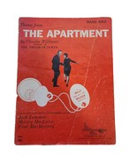 """Vintage Sheet Music Theme From """"The Apartment"""" by Charles Williams Ephemera - $7.86"""