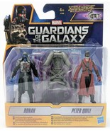 Guardians of the Galaxy Ronan and Peter Quill Star-Lord Figure Pack Toy - $10.80