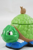Vintage '71 Ceramic Tennis Shoe Turtle Container Statue Figure Trinket B... - £14.56 GBP