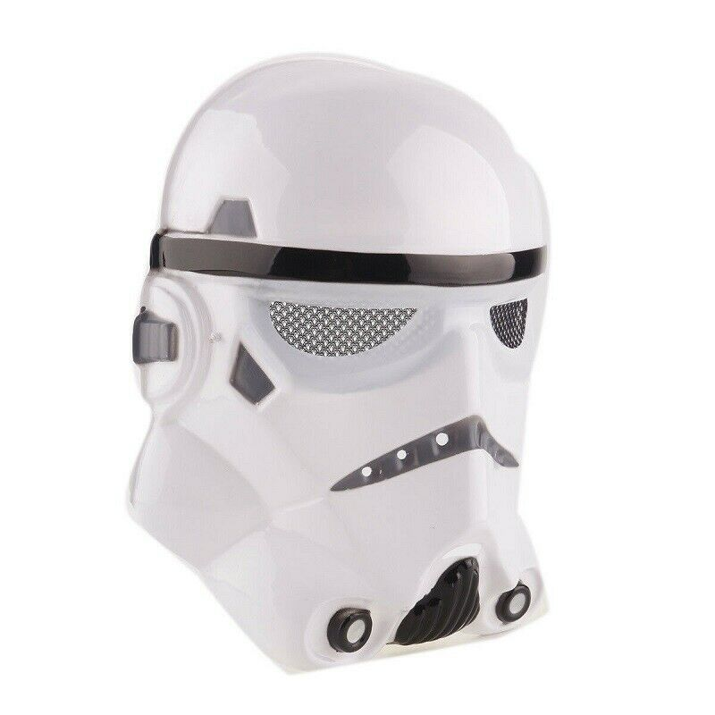 Adult Star Wars Black White Mask Cosplay Costume Stormtrooper Mask Party image 2