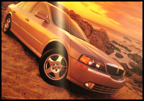 2001 Lincoln LS PRESTIGE Original Brochure HUGE