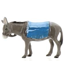 Hagen-Renaker Specialties Ceramic Nativity Figurine Donkey with Blanket image 6