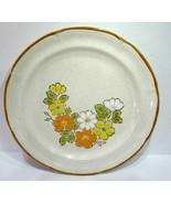 "Hearthside Stoneware Spring Garden Baroque 10 1/2"" Dinner Plate Vintage - $7.87"