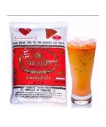 Tea Thai Mix Original Hand Brand Number One Red Label Ice Hot ChaTraMue ... - $19.79