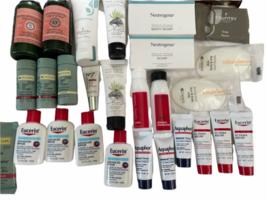 Lot Travel Sample L'Occitane Aquaphor Eucerin Lotion Soap Shampoo Pharmacopia image 6