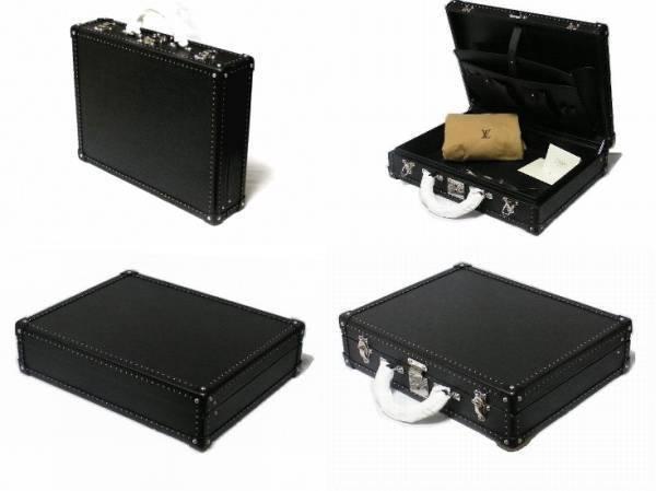 LOUIS VUITTON Attache Briefcase Bag Hard Case Trunk President Epi New L/d Rare