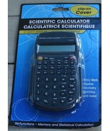 NEW IN PACKAGE Battery Operated Hand Held Scientific Calculator, Grey Ac... - $5.93