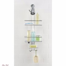 Stainless Steel Shower Caddy Home Bathroom Accessories Stronghold Hook S... - $43.00