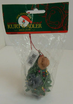 Fishing Ornament Kurt Adler Santa's World - $12.82