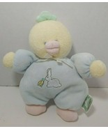 Soft Dreams Target plush yellow blue duck bunny turtle baby rattle soft toy - $19.79