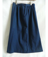 Vintage Pendleton Womens Blue Pure Virgin Wool Lined Skirt Size 6 - $29.99