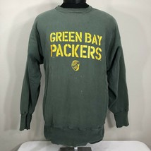 Vintage Champion Reverse Weave Sweatshirt Warm Up Crew Green Bay Packers... - $27.00