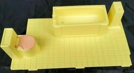 PLAYSKOOL Victorian Dollhouse Bathroom Insert Vintage 1991 Missing Shell... - $10.69