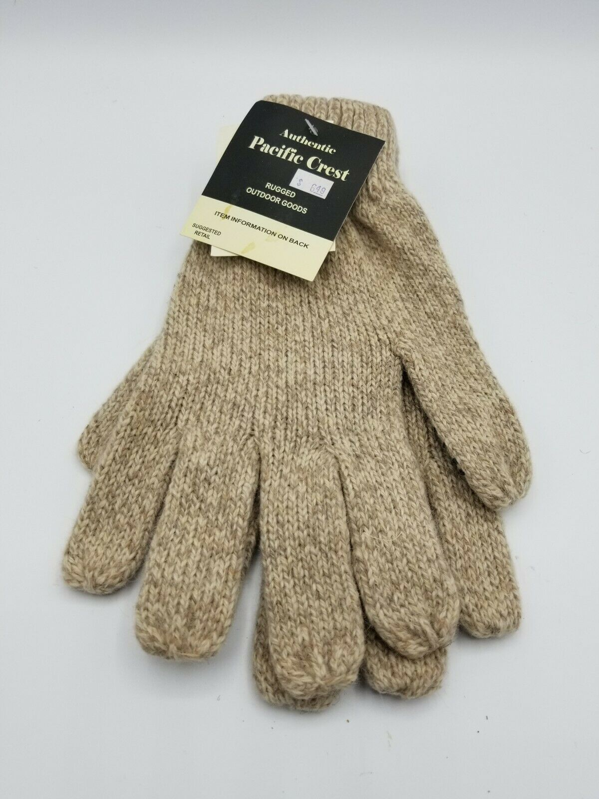 Primary image for Pacific Crest Wool Blend Working Gloves with Non-Slip Grip