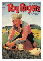 1992 Arrowpatch Roy Rogers Comics Trading Card #57 > Trigger > Happy Trail - $0.99