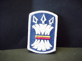 Vintage United States Army 157th Infantry Brigade Dress Colored Patch - $12.86