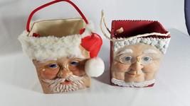 clay Mr and Mrs Santa bags - $49.50