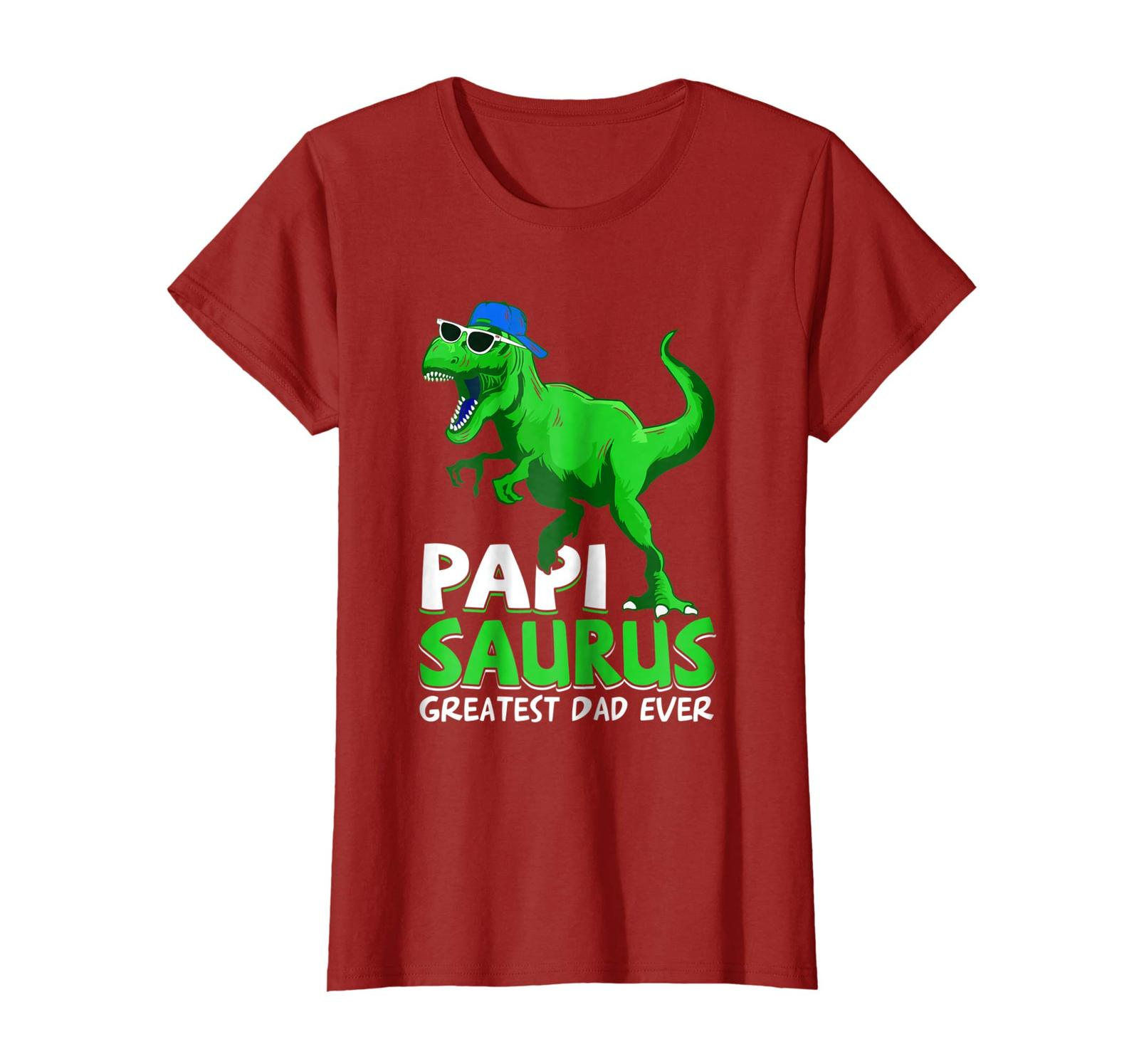 Brother Shirts - Papisaurus T-Shirt | Greatest Dad Ever 2018 T-Shirt Wowen