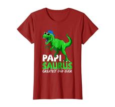 Brother Shirts - Papisaurus T-Shirt | Greatest Dad Ever 2018 T-Shirt Wowen image 2