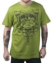 Dunkelvolk Dark Citron Green Victorious Katsumoto Peruvian Art Gargoyle T-Shirt image 1
