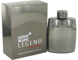 Mont Blanc Montblanc Legend Intense Cologne 3.3 Oz Eau De Toilette Spray image 1